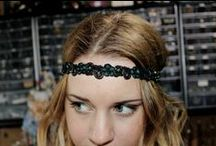 h e a d b a n d s / These beautiful handmade headbands will be the perfect accessory for that special someone. Detailed embroidery and small shinning beads make these pieces a lovely addition to any outfit. / by Seedlings Art Bar