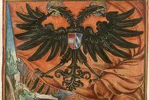 HRRDN / Heiliges Römisches Reich Deutscher Nation or the Holy Roman Empire (Sacrum Imperium Romanum) 800/962-1806
