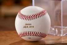 Baseball Fan Gifts / Gifts ideas for the Major League Baseball fan. These baseball gifts let your favorite fan show off his or her team pride at home, by the pool, or on the go. Great for Groomsmen Gifts, Father's Day Gifts, Anniversary Gifts, Birthday Gifts or Holiday Gifts!