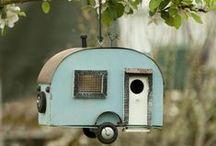Vogelhuisjes / Allerlei soorten vogelhuisjes,