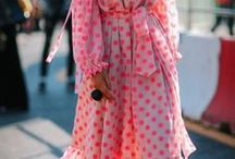Pink and Orange Outfits / Pink and outfits for women with style