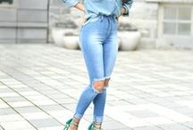 Denim Outfits / Outfits with denim.