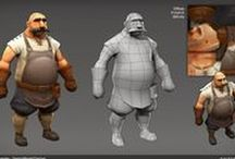 Low Poly Models & Stylized Textures