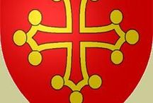 Montségur / Languedoc and the Cathars - the expansion of northern french crusader knights in southern France and the prosecution and extinction of the Cathars through the Albigensian Crusade (1209-1229)