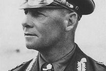 Wüstenfuchs / Johannes Erwin Eugen Rommel (15 November 1891 – 14 October 1944), popularly known as the Desert Fox, a senior German Army officer during World War II. His leadership of German and Italian forces in the North African Campaign established his reputation as one of the most able commanders of the war. He later commanded the German forces opposing the Allied cross-channel invasion of Normandy in June 1944.
