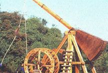 Medieval Siege Engines and Pieces