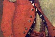 British Redcoat / Uniforms and Equipment of Officers and Rank and File of the British Army during the WoSS, 7YW and AWI