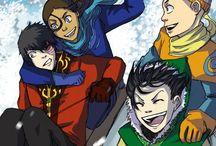 Cartoon Ships / Cartoons: Fictional Characters and Shipping  / by Gÿpšÿ