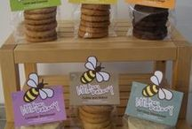 Little Bee Bakery / The home of good quality, delicious homemade cakes and biscuits. Everything is baked from scratch using the best ingredients. About 30% are sourced from local Hampshire producers and nothing artificial goes into anything we make.