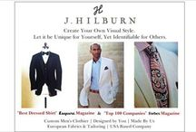"""J.Hilburn - Dress to impress for men / Men's custom clothing by J Hilburn. Voted by Esquire magazine as """"best dressed shirt"""" we are the largest custom shirt company in the world! J Hilburn is turning the men's fashion industry on its ear with direct to consumer pricing and more options including fully custom shirts at a fraction of a cost!  Visit my website for the latest trends in menswear. By appt only for custom fittings, 100% guaranteed."""