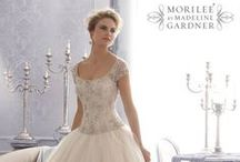Mori Lee ~ Wedding Gowns / Mori Lee wedding dresses are award winning and have been designed with glistening hand sewn swarovski crystals on beautiful taffeta, lace, organza and satin.