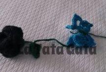 MEn-Gancho Y Punto / CREACIONES DE GANCHILLO y TEJIDO http://eltejadodelatatagata.blogspot.com.es/
