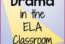 Drama in the ELA Classroom / Resources for integrating drama in your ELA units. Please pin one resource, blog post, or video for every product. Email me at nouvelletpt@gmail.com if you'd like to be added! Happy pinning!