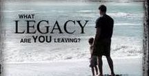 Craft Your Legacy Tips / The Missing Pieces Plan's ideas for helping you craft your legacy now.