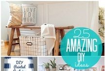 DIY HOME ~PROJECT INSPIRATIONS & CRAFTS / by :: Becky Houghton ::