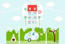 free DIY Paper Home Project, ma maison de papier / Cut & Play!!! Une maison en papier qui de temps en temps s'enrichit d'un étage
