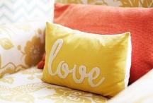 DIY: Throw Pillows / Pillow fight! / by Melissa Camara Wilkins