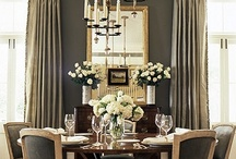 A mirror in the dining room?
