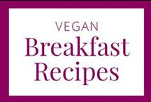 Vegan Breakfast Recipes / Take your vegan breakfast beyond cereal, fruit and yogurt. Try adding one of these recipes to your repertoire to add a little deliciousness to your morning.
