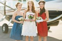 Colour palettes - red, white & blue / by English Wedding Blog