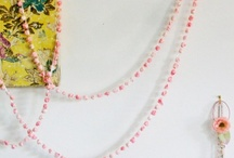 Love: Garlands / Garlands, buntings, and hanging treasures. Paper. Fabric. Swoop. Yes!