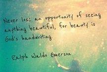It's A Beautiful World.  / by Melissa Dadich