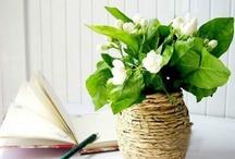 Manualidades florales / DIY