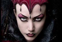 Costume Makeup & Masks / Fantasy makeup & mysterious masks