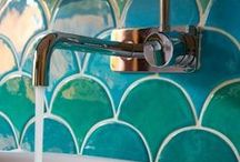 I Dream In Tile / Beautiful Tiles I would love to have! / by Diane Cordero
