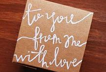 Such a Gift / Some of our personal favorites, curated just for you! Celebrate your Special Someone.  / by Alicia Klein