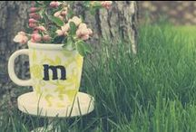 DIY Monograms / by Southern Savers - Jenny