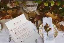 Styling - woodland weddings