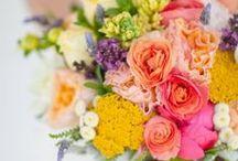 Flowers - bright & beautiful / by English Wedding Blog