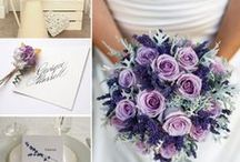 Colour palettes - purple / by English Wedding Blog