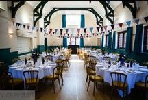 Styling - village hall wedding