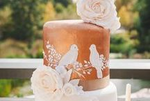 Cakes - contemporary / by English Wedding Blog