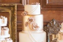 Colour palettes - gold / by English Wedding Blog