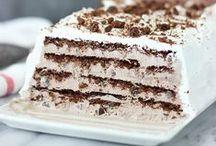 Recipes: Icebox & Ice Cream Cakes & Pies