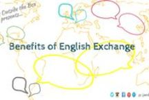 """Languages / """"Learning another language is not only learning different words for the same things, but learning another way to think about things."""" -Flora Lewis Get a language exchange partner today! visit: http://bit.ly/eng-exchange"""