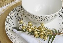 Festive Table Decor With Spotlight / Be inspired to get creative with your table decor this holiday season with some cute inspiration from Spotlight