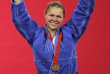 The Judoka Turned Olympian / Ronda was the first American woman to medal in Judo, receiving a bronze medal in Beijing in the Summer of 2008.