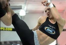 Training & Sparring / Ronda in training (even with others) - a reminder that mixed martial arts is truly an art.