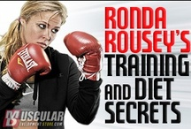 Diet & Exercise / Wanna train like Ronda? Articles, interviews, and tips from the pro herself.