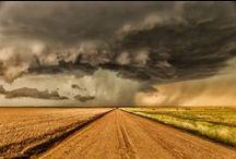 storm / Bruised skies and wet wonder ... I love a good storm, however destructive.