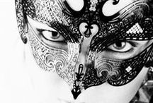 masquerade / Who doesn't love a secret. What we cannot see is often more enticing that what we can see ... which is why masks are so intriguing.