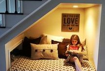 Reading Nooks / The perfect spaces for reading and soaring imaginations