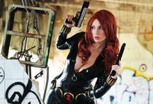 Art: Black Widow Cosplay Comics and Fanpage / by Heroes World