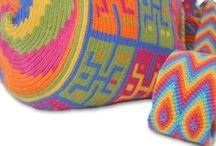 Wayuu mochila / Wayuu Mochila love!  / by RiannesHaaksels