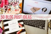 She Blogs / blogging tips + resources