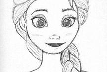 Disegni di cartoni animati / Disney